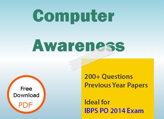 Computer Awareness for IBPS PO 2014 Exam Preparation