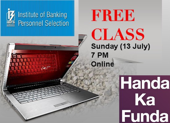 Free Online Class for IBPS PO 2014 Exam Preparation and Coaching