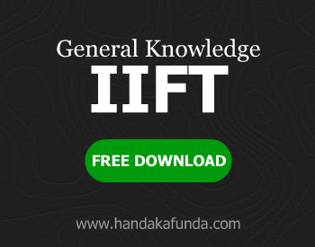 General Knowledge GK for IIFT