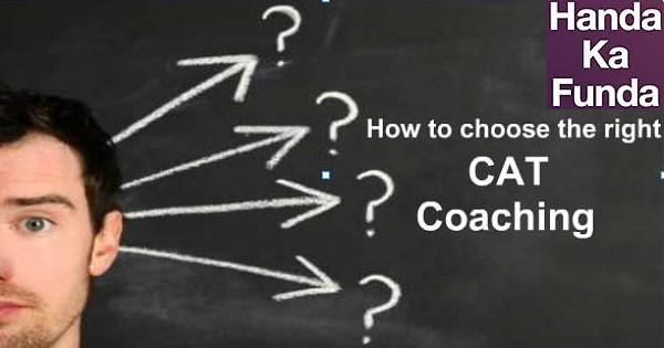 CAT Coaching institute