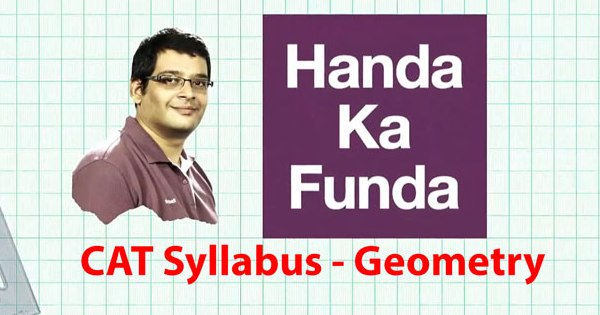 Complete Geometry Syllabus for CAT 2015 Exam Preparation