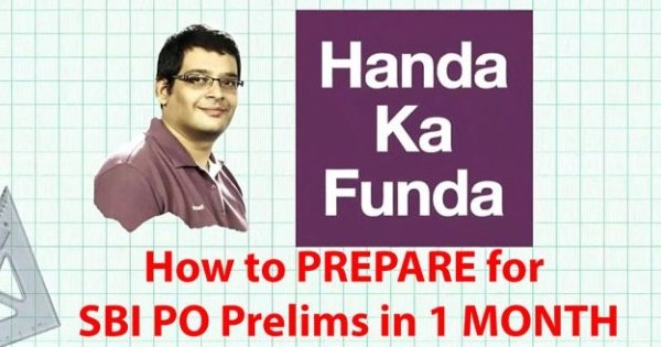 How to Prepare for SBI PO Prelims 2019 Exam in 1 month