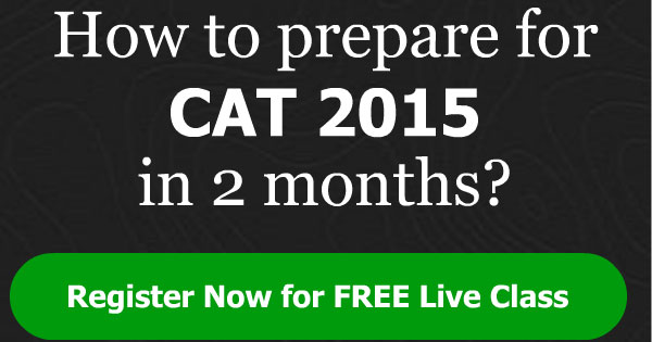 How to prepare for CAT 2015 in two months