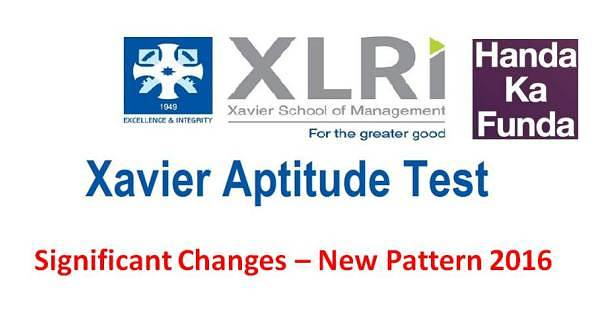 Significant Changes in the New Pattern of XAT 2016
