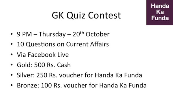 General Knowledge Quiz Contest