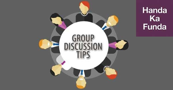 How to Approach an Abstract Group Discussion - Handa Ka Funda